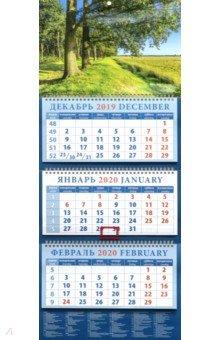 Zakazat.ru: Календарь 2020 квартальный Прекрасный летний пейзаж (14040).