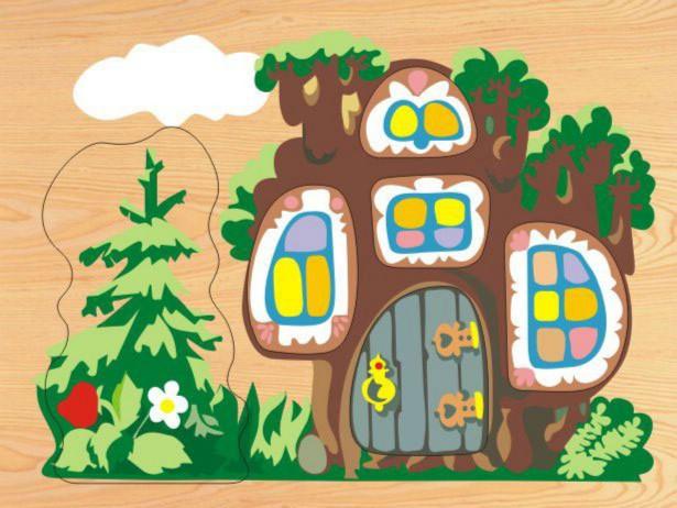 Иллюстрация 1 из 8 для D110 Дерево-Теремок 1 | Лабиринт - игрушки. Источник: Лабиринт