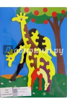 """Развивающая деревянная игрушка """"Жирафы"""" (DE06)"""