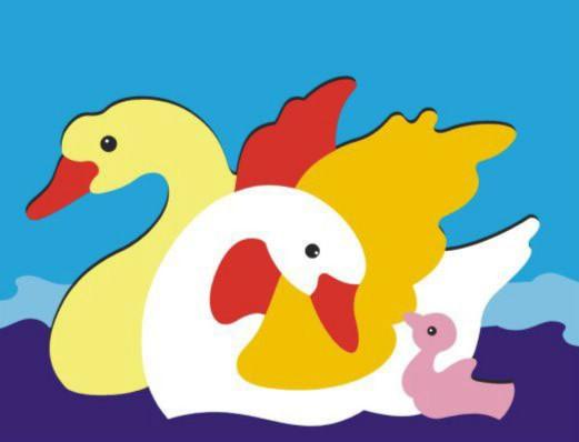 Иллюстрация 1 из 6 для Лебеди   Лабиринт - игрушки. Источник: Лабиринт
