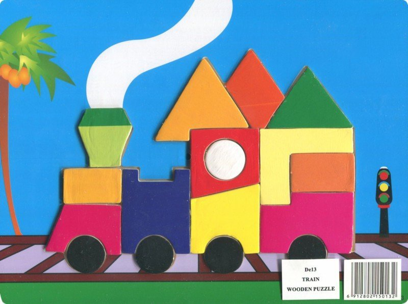 Иллюстрация 1 из 2 для Паровоз (De13) | Лабиринт - игрушки. Источник: Лабиринт