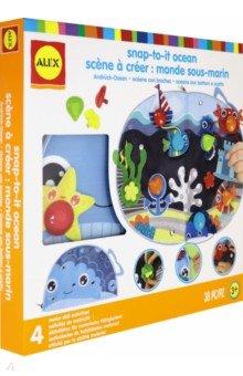 Купить Набор для создания поделки из текстиля Океан (220090-5), ALEX, Аппликации