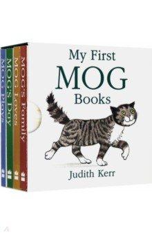 Купить My First Mog Books. 4 book box set, Harper Collins UK, Художественная литература для детей на англ.яз.