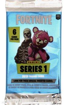 Купить Карточки Fortnite 1 (1 пакетик), Panini, Детские сувениры
