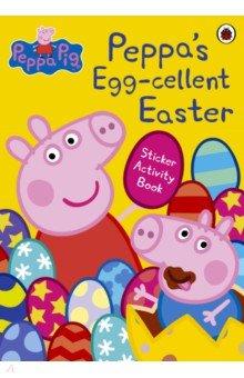 Купить Peppa's Egg-cellent Easter Sticker Activity Book, Ladybird, Книги для детского досуга на английском языке