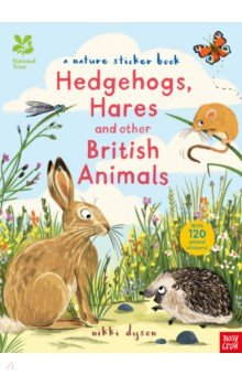 Hedgehogs, Hares and other British Animals Sticker