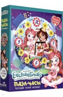 Купить Enchantimals. Пазл-часы Ромашковое поле (77 элементов) (+4 магнита) (05068), Оригами, Пазлы (54-90 элементов)