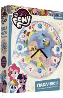 Купить Пони. Пазл-часы Облака (77 элементов) (+4 магнита) (05081), Оригами, Пазлы (54-90 элементов)