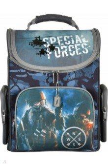 Купить Ранец школьный Military (830818), Silwerhof, Ранцы и рюкзаки для начальной школы