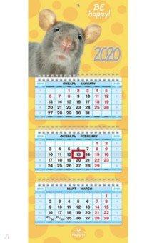 Zakazat.ru: Календарь на 2020 год, квартальный трехблочных МИНИ-3, Знак Года (3Кв3гр5ц_19132).