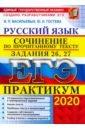 Обложка ЕГЭ 2020. Русский язык. Сочинения. Задания 26, 27
