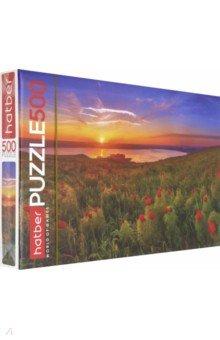 """Hatber Puzzle-500 """"Очарование заката"""" (500ПЗ2_18627)"""
