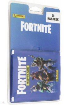 Купить Блистер с наклейками Fortnite (6 пакетиков), Panini, Наклейки детские