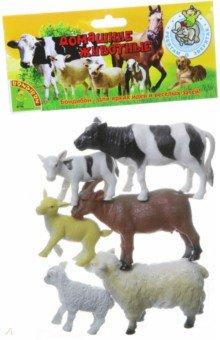 Купить Набор домашние животные с детенышами, 6 штук (ВВ1606), Bondibon, Животный мир