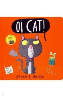 Купить Oi Cat!, Hodder, Первые книги малыша на английском языке