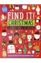 Find It! Christmas. Sticker book