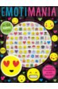 Фото - Puffy Stickers Emotimania puzzle crazy a school s getaway crossword fun vol 2 crossword puzzles for kids