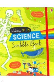 Купить Science Scribble Book, Usborne, Художественная литература для детей на англ.яз.