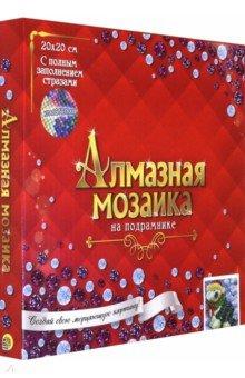 Купить Алмазная мозаика 20х20 см Зимний бобтейл (AC20027), Рыжий Кот, Аппликации