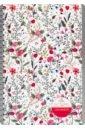 Обложка Зап.книжка 40л,А5,греб,Цветочный паттерн,С0859-49
