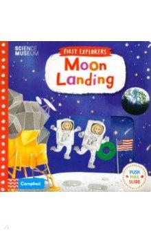 Купить Moon Landing, Campbell, Первые книги малыша на английском языке