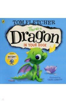 Купить There's a Dragon in Your Book (PB), Puffin, Первые книги малыша на английском языке