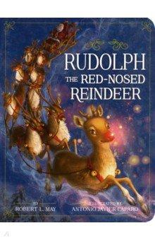 Купить Rudolph the Red-Nosed Reindeer, Little Simon, Первые книги малыша на английском языке
