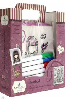 Купить Санторо. Сумка прогулочная для раскрашивания (04593), Оригами, Роспись по ткани