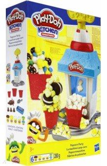 Купить Игровой набор для лепки Попкорн-Вечеринка (E5110EU4), Hasbro, Наборы для лепки с игровыми элементами