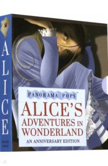 Купить Alice's Adventures in Wonderland: Panorama Pops, Walker Books, Первые книги малыша на английском языке