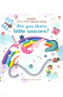 Купить Are You There Little Unicorn?, Usborne, Первые книги малыша на английском языке