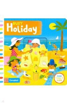 Купить Busy Holiday, Mac Children Books, Первые книги малыша на английском языке