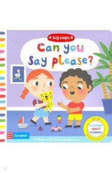Купить Can You Say Please?, Mac Children Books, Первые книги малыша на английском языке
