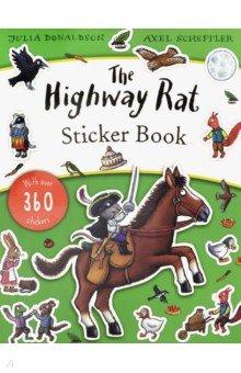 Купить The Highway Rat. Sticker Book, Scholastic UK, Книги для детского досуга на английском языке