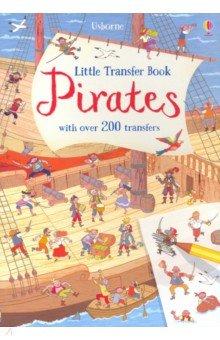 Купить Little Transfer Book: Pirates, Usborne, Книги для детского досуга на английском языке