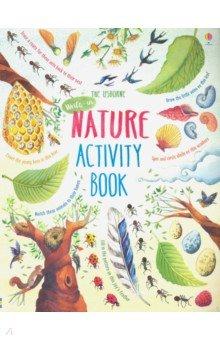 Купить Nature Activity Book, Usborne, Книги для детского досуга на английском языке