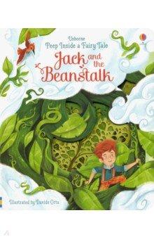 Купить Peep Inside a Fairy Tale. Jack & the Beanstalk, Usborne, Первые книги малыша на английском языке
