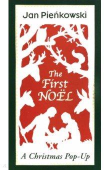 Купить The First Noel - Christmas pop-up, Walker Books, Первые книги малыша на английском языке