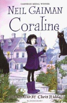 Купить Coraline, Bloomsbury, Художественная литература для детей на англ.яз.