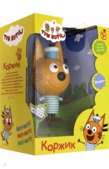 Купить Фигурка пластиковая Три кота. Коржик , 15 см (Т16181), 1TOY, Герои мультфильмов