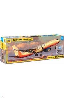 Купить Сборная модель Грузовой самолет ТУ-204-100С , 1/144 (7031), Звезда, Пластиковые модели: Авиатехника (1:144)