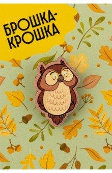 Zakazat.ru: Значок деревянный Сова.