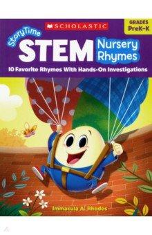 Купить StoryTime STEM: Nursery Rhymes PreK-K, Scholastic Inc., Художественная литература для детей на англ.яз.