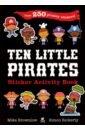 g whitefield chadwick 10 little tunes for ten little friends Brownlow Mike Ten Little Pirates Sticker Activity Book