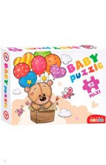 Baby Puzzle. Мишка и воздушные шары (3844), Дрофа Медиа, Пазлы (Maxi)  - купить со скидкой
