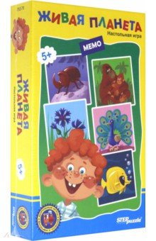 Купить Дорожная игра Живая планета (76579), Степ Пазл, Карточные игры для детей