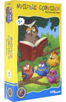 Дорожная игра Мудрые совушки (76581), Степ Пазл, Карточные игры для детей  - купить со скидкой