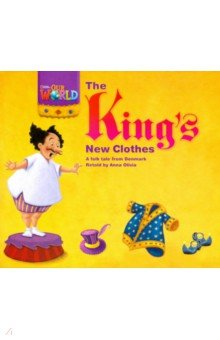 Купить Our World 1: Rdr - The King's New Clothes (BrE), National Geographic Learning, Первые книги малыша на английском языке