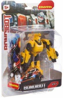 Купить Трансформер 2 в 1 BONDIBOT робот-машина (5505C/ВВ4362), Bondibon, Роботы и трансформеры