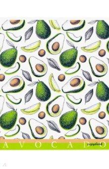 Тетрадь 40 листов, клетка, Авокадо (С6046-06)